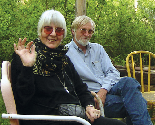 Joanne Kyger and Donald Guravich